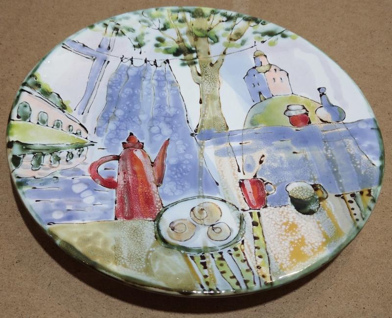 Сувенирная тарелка с Великим Новгородом