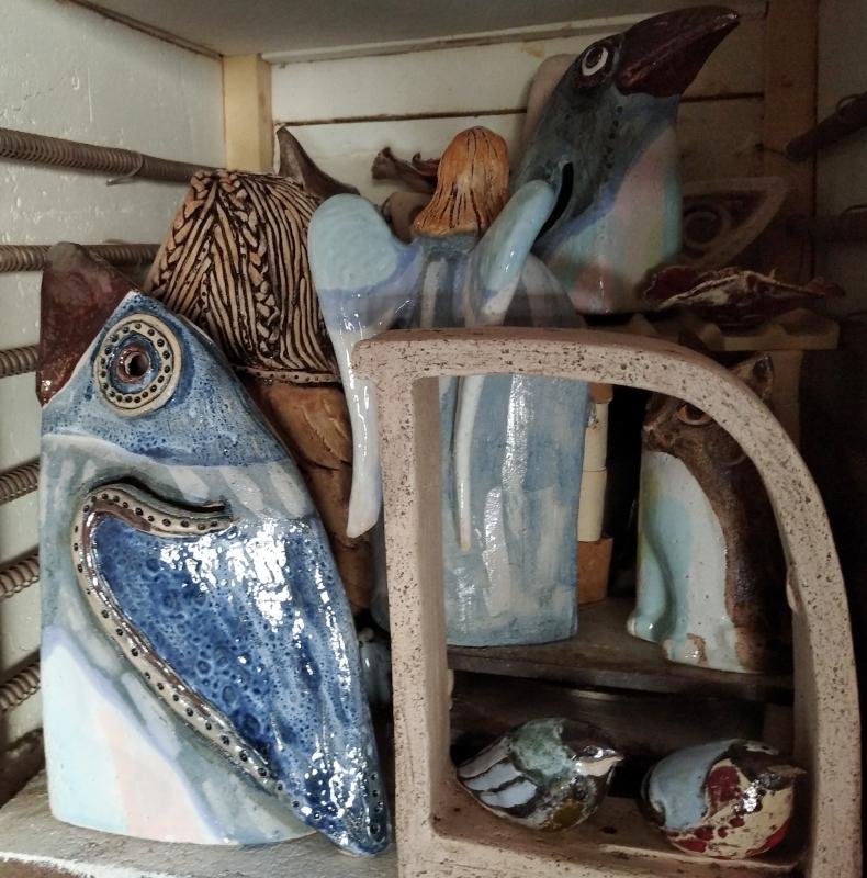 Керамические скульптуры