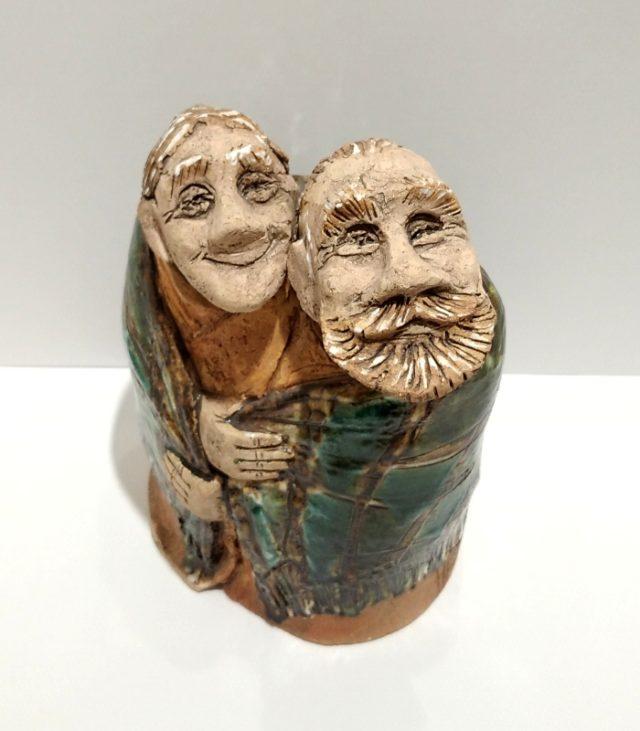 """Статуэтка из керамики """"Реальная любовь"""""""