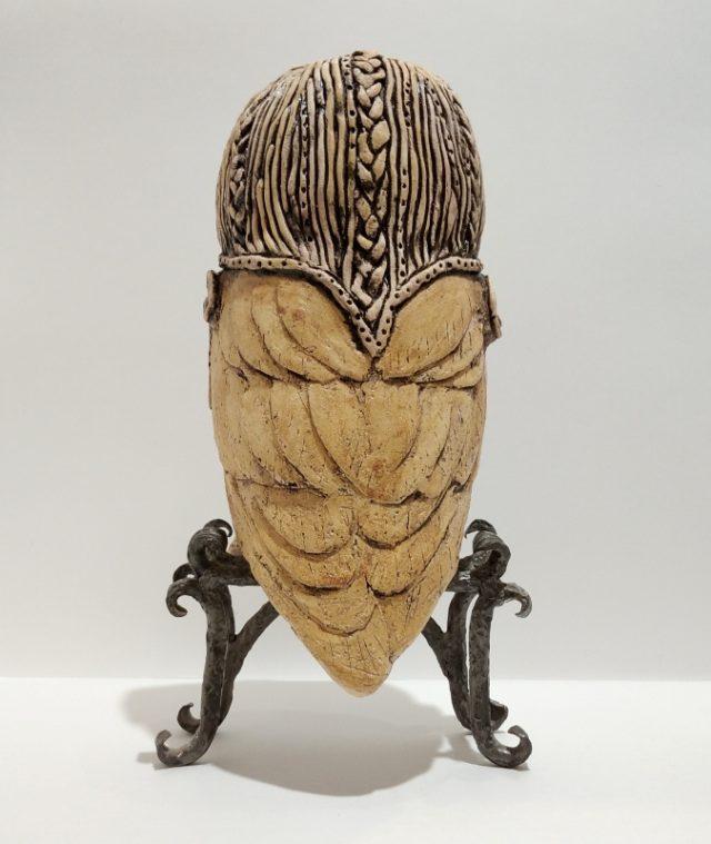 "Скульптура из керамики ""Сирин"""