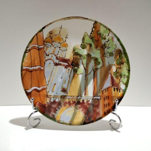 Тарелка керамическая Великий Новгород